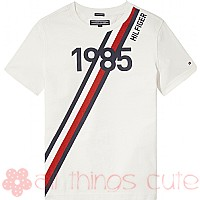 White 1985 T-shirt by Tommy Hilfiger