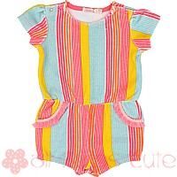 Stripe Baby Playsuit by Billieblush