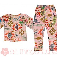 Urban Fish Legging Set By Oilily
