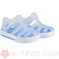 Igor Star Velcro Jellies - Clear / Blue