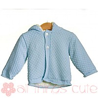 Blue Knitted Jacket By Blues Baby